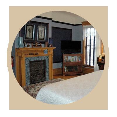 Rooms Circle | Kalamazoo, MI | Stuart Avenue Inn & BB